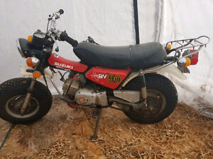 1979 RV 90cc 2 stroke street bike fat tire