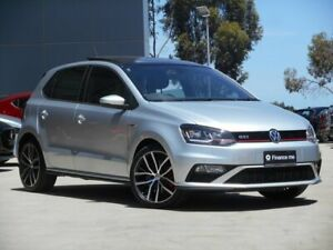 2017 Volkswagen Polo 6R MY17 GTI DSG Silver 7 Speed Sports Automatic Dual Clutch Hatchback Ravenhall Melton Area Preview