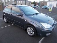 FORD FOCUS 1.6 ZETEC HATCHBACK 03 REG,, NICE CLEAN CAR,, MOT MARCH 2018