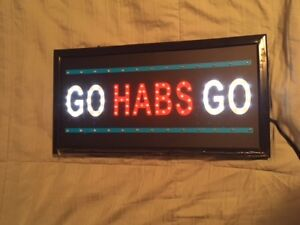 GO HABS GO   Wall Light