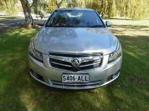 2010 Holden Cruze JG CDX Silver 6 Speed Sports Automatic Sedan Mount Barker Mount Barker Area Preview