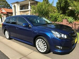 2010 Subaru Liberty B5 MY10 2.5i Sports Lineartronic AWD Premium Blue 6 Speed Constant Variable Croydon Burwood Area Preview