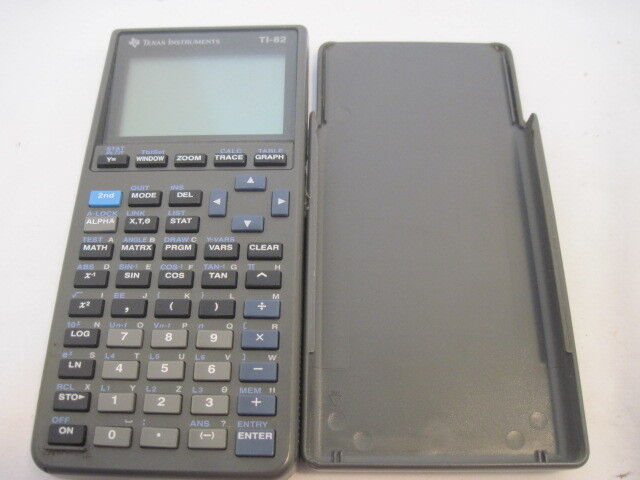 OLD Texas Instrument TI-82 Graphing Calculator Parts/Repair