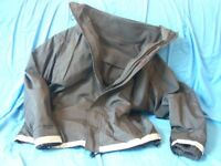 Suse's Kinder maternity coat and fleece baby carrying jacket, Black small. Twins, baby wearing