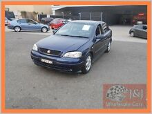 2001 Holden Astra TS CD Blue 4 Speed Automatic Hatchback Warwick Farm Liverpool Area Preview