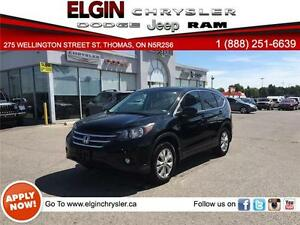 2014 Honda CR-V EX-L***Leather,B-up Cam,AWD,Bluetooth,Low Kms***