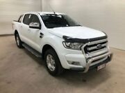 2017 Ford Ranger PX Mkii MY17 Update XLT 3.2 (4x4) White 6 Speed Manual Dual Cab Utility Bohle Townsville City Preview