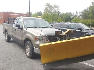 2004 Ford F-150 Pickup Truck with plow  fisher , PLOW TRUCK