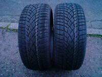 Dunlop winter sport 30 225.35.19 88w x 2 brand new