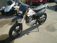 2012 Suzuki  Pister Pro XTR 200 Street and Trail