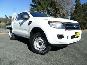 2012 Ford Ranger PX XL 2.2 HI-Rider (4x2) White 6 Speed Automatic Crewcab Belconnen Belconnen Area Preview