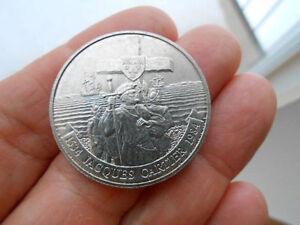 1984 CANADA NICKLE DOLLAR COIN - $1.00 CANADIAN - JACQUE CARTIER