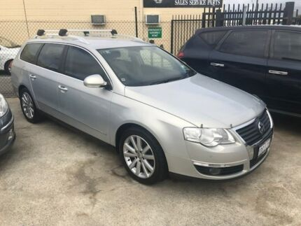2009 Volkswagen Passat Type 3C MY10 125TDI DSG Silver 6 Speed Sports Automatic Dual Clutch Wagon St James Victoria Park Area Preview