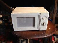 Microwave - 2nd hand
