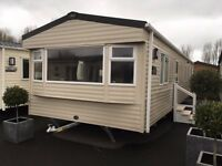New 2017 Abi Summer breeze 36x12 3 bed on Talacre Beach in North wales