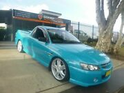 2005 Holden Ute VZ SS Z Blue 4 Speed Automatic Utility Granville Parramatta Area Preview