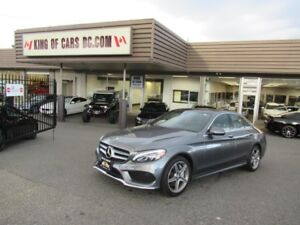 2017 Mercedes-Benz C-Class C300 4MATIC WITH AMG PACKAGE