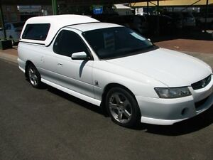 2005 Holden Ute VZ S White 5 Speed Automatic Utility Casino Richmond Valley Preview