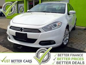 2014 DODGE DART LIMITED with LEATHER, Bluetooth, USB, SD Card