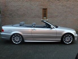 BMW 320i Sport Convertible. ONLY 77k MILES £3250