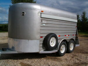 Used Stock and Horse trailers