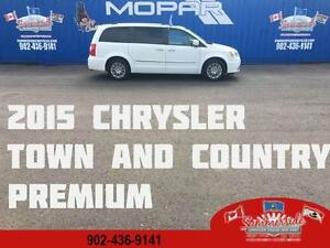 2015 Chrysler Town & Country Limited Premium Dual DVD, LOADED!