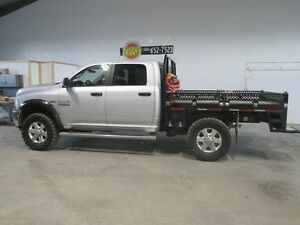 "2015 Ram 2500 7' 8"" steel deck w/ drop sides and T-gate"