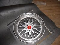 """bmw 5x120 fitting 19"""" bbs style wheels set 4 staggered"""