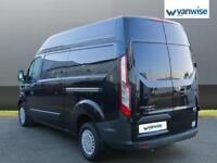 2014 Ford Transit Custom 2.2 TDCi 125ps High Roof Trend Van Diesel black Manual