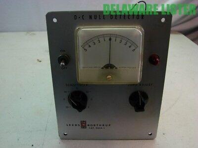 Vintage Ln Leeds Northrup Dc Null Detector Cat No 9834-1