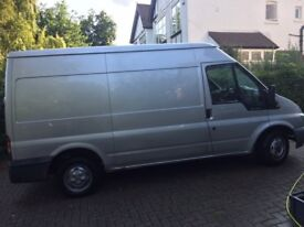 Van + water fed pole system (Window Cleaning)