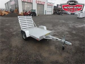 4 x 6 All-Aluminum Utility Trailer - 1,200# GVWR *TAX IN PRICES*