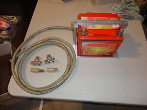 Street Rod Battery and cable lot
