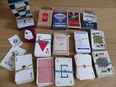 VINTAGE PLAYING CARDS-JOB LOT-2xminiatures,PIT