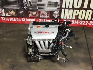 JDM HONDA ACURA TSX 2.4L K24A ENGINE ONLY MOTOR FOR SALE