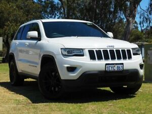 2015 Jeep Grand Cherokee WK MY15 Laredo 4x2 White 8 Speed Sports Automatic Wagon Myaree Melville Area Preview