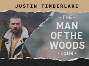 JUSTIN TIMBERLAKE @ AIR CANADA CENTRE OCT 9 2018