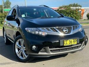2015 Nissan Murano Z51 Series 4 MY14 TI Black Obsidian 6 Speed Constant Variable Wagon