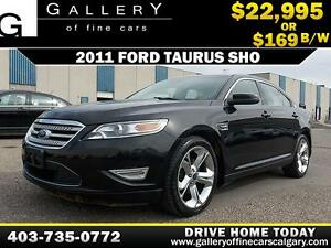2011 Ford Taurus SHO V6 $169 BIWEEKLY APPLY NOW DRIVE NOW