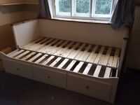 Ikea bed and bedside table £100