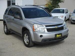 2008 CHEVROLET EQUINOX HAS SAFETY AND WARRANTY $5,950