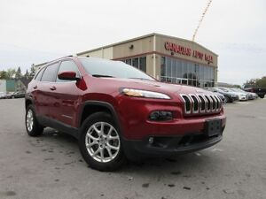 2016 Jeep Cherokee 4X4 NORTH, ALLOYS, A/C, LOADED, 43K!