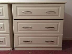Cream chest of drawers (Sharps – Ascot Range)