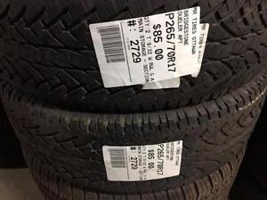 265/70/17 Bridgestone Dueler APT (All Season)