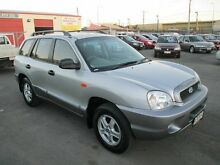 2003 Hyundai Santa Fe GL (4x4) Silver 4 Speed Automatic Wagon Coopers Plains Brisbane South West Preview