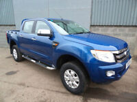Ford Ranger XLT TDCi double cab pick up 2015 15 reg