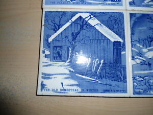 4 coasters/trivets - Currier and Ives designs Peterborough Peterborough Area image 2