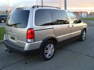 2008 PONTIAC MONTANA SV6 LS 7 PASSENGER ''ONE TAX INCLUDED'' West Island Greater Montréal image 5