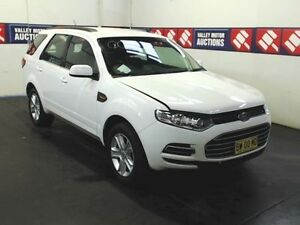 2013 Ford Territory SZ White 6 Speed Automatic Wagon Cardiff Lake Macquarie Area Preview