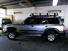 2002 Nissan Patrol GU III MY2002 ST Plus Silver 4 Speed Automatic Wagon Woodridge Logan Area Preview